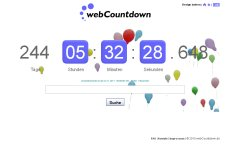 webCountdown net: Your online countdown clock to share!